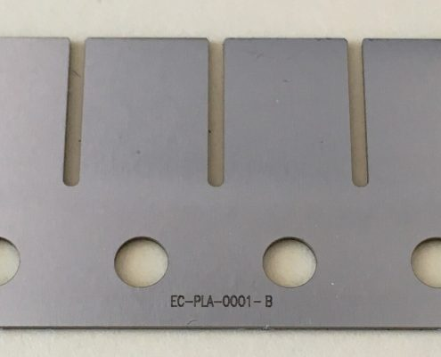 Laser Marking with part number