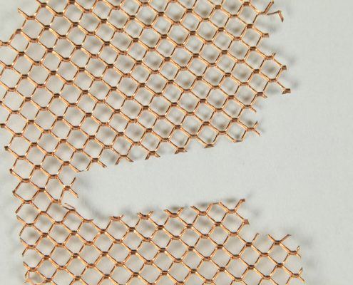 Copper Mesh Shield - Accu-Tech Laser Processing