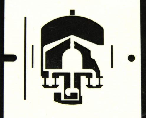 ceramic strain gage laser cut