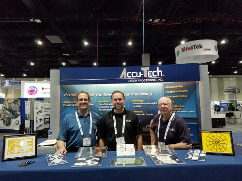 The Accu-Tech Team - ready to help you at the IPC Apex Expo